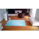 grossiste Maison et cuisine: Tapis de damassé Turquoise 160x220cm