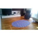 wholesale Haberdashery & Sewing:Round rug 120cm Damask