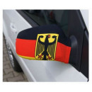 Car Mirror flag  Germany Adler Set of 2