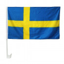 wholesale Gifts & Stationery:Car flag 30 x 45 Sweden