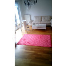 groothandel Tapijt en vloerbedekking: Carpet Damast Rood, 160x220cm