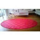 grossiste Tapis & Sols: Damassé Tapis rouge Oval 120x180cm