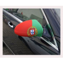 Car Mirror flag Portugal Set of 2