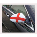 Car Mirror flag England Set of 2