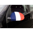 Car Mirror flag France Set of 2