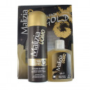 wholesale Shaving & Hair Removal: MALIZIA UOMO GOLD  Bipack After Shave shaving cream