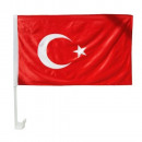 grossiste Cadeaux et papeterie: Drapeau de voiture 30 x 45 Turquie