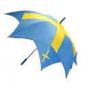 Großhandel Taschen & Reiseartikel: Fan Artikel Regenschirm Schweden