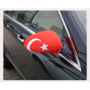 Car Mirror flag Turkey Set of 2