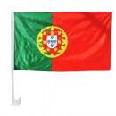 grossiste Cadeaux et papeterie: Drapeau de voiture Portugal 30x45cm