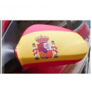 Car Mirror flag Spain Set of 2