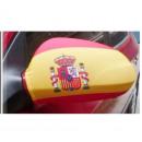 wholesale Models & Vehicles: Car Mirror flag Spain Set of 2