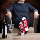 groothandel Kleding & Fashion: Ladies -Under-Statement Socks WINE PLEASE