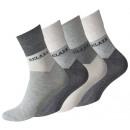 Großhandel Strümpfe & Socken: Herren Kurzschaft Socken RELAXX ohne Gummibund