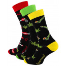 wholesale Stockings & Socks: Unisex casual socks with WEED motifs
