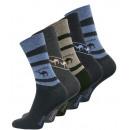 Großhandel Strümpfe & Socken: Herren Baumwollsocken SAHARA - 5er Pack