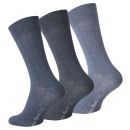 wholesale Stockings & Socks: Men's Socks in  Blue Jean Plus Size XXL size. 4