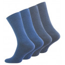 wholesale Jeanswear: Men Comfort socks  without elastic waistband in jea