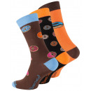 wholesale Stockings & Socks: Unisex casual socks with DONUT motifs
