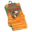 wholesale Stockings & Socks: Marl cotton toe socks One Size