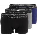 wholesale Lingerie & Underwear: Vincent Creation® Men's Cotton Short in a Colo