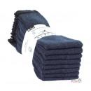 Großhandel Strümpfe & Socken: Frottee  Sportsocken in jeansblau - 8er Pack