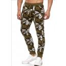 Großhandel Dessous & Unterwäsche: Herren / Men;Jogging Pants SS-30 Khaki