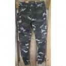 ingrosso Jeans: Gli uomini / jeans / pantaloni TUR-3225 Camo Nero