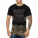 ingrosso T-shirts & Tops: Uomo T-Shirts  T-Shirt camicia TUR-944 Camo Verde