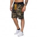 wholesale Shorts: Men's Short  Bermuda TUR-997 Camo Gruen