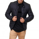 wholesale Coats & Jackets: Men's /  Men's Jacket TUR-G3001 Black