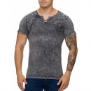 wholesale Fashion & Mode: Men's Short  Sleeve T-Shirt TUR-1030 Black