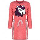 Lányok ruha tunika ruha ló cseresznye