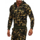 wholesale Coats & Jackets: Men's / Men's Army Sweat Jacket 9765