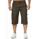ingrosso Shorts: Pantalone bermuda moda uomo corto J-402 verde scur