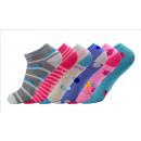 Großhandel Strümpfe & Socken: Kinder Mädchen Sneaker Socken Sneakersocken FXHC-2