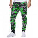 Großhandel Sportbekleidung: Herren Jogging Hosen Jogging Pants TUR-794 Gruen