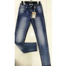 wholesale Jeanswear: Ladies Large Size Jeans Pants 3057