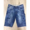 Großhandel Jeanswear: Herrenmode Bermuda  Hosen Short Jeans X2361-5
