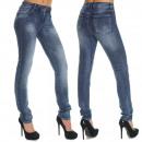 wholesale Jeanswear: Women Oversized  Pants Jeans Pants 3057