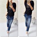 wholesale Jeanswear: Damen Hosen JEANS JOGG 3013