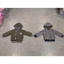 Großhandel Pullover & Sweatshirts: Sweatjacket REVERSIBLE NO-2400 Green