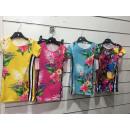 groothandel Kleding & Fashion: Kinderkleding  Tuniekjurk met bloemen Flower Pink