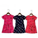 Großhandel Kinder- und Babybekleidung: Mädchen / Girls; Kleid / Dress T42