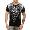Men's T-Shirt  Shirt T-Shirt TUR-3156 Black