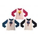 grossiste Vetements enfant et bebe: Girls / Girls Shirt MJ-9708
