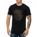 Men's T-Shirt Shirt TUR-1041 Black