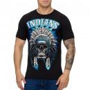 ingrosso T-shirts & Tops: Shirt da uomo T-Shirt TUR-994 Nero