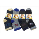 Großhandel Strümpfe & Socken: SOCKEN; Kinder  Jungen Socken 5er 34028B