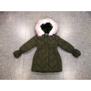 wholesale Childrens & Baby Clothing: Girls winter jacket ZY-841 Green